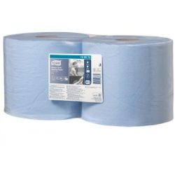 TORK nagy teljesítményű törlőpapír, kék kombi tekercs (W1/W2)