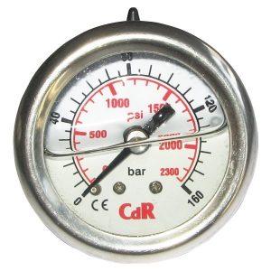 Nyomásmérő óra 40mm