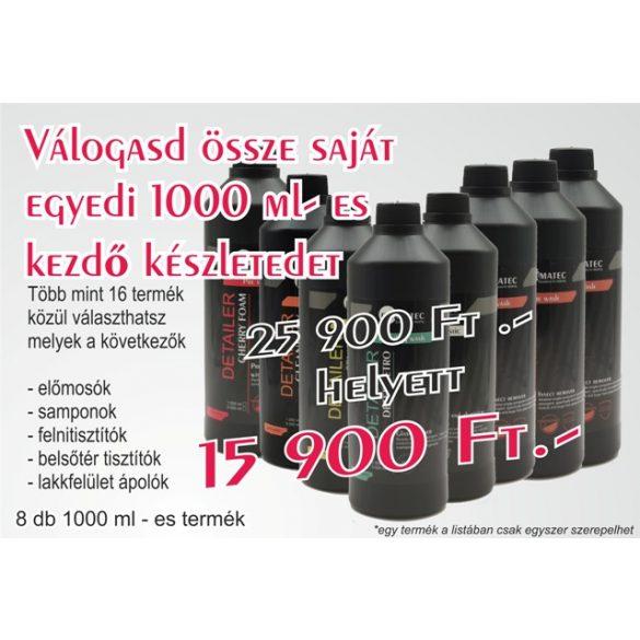 VÁLOGASD ÖSSZE SAJÁT EGYEDI 1000 ML-ES KEZDŐ KÉSZLETEDET